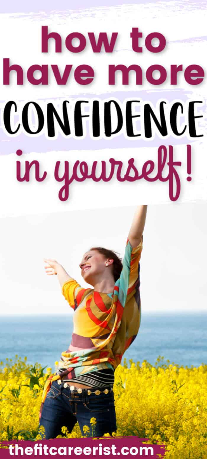 How to have more confidence pin