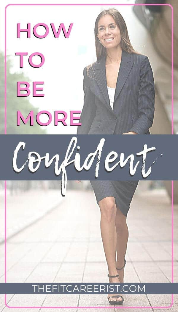 How to Be More Confident pin
