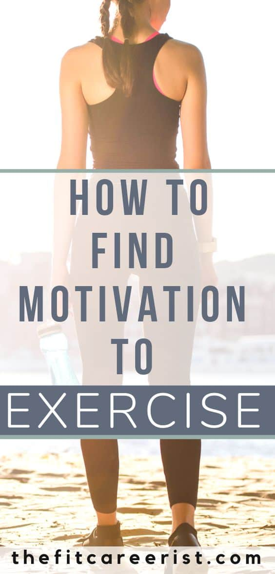 Fitness motivation is an elusive beast, isn't it? And is usually bails about 30 seconds into your first round of squats. Even if you hate exercise, this guide will give you the tools you need to shift your mindset and make exercise happen - in a realistic, doable, but still effective way. Check out this free fitness guide or pin for later! #fitnessmotivation #exercisetips #weightlosstips