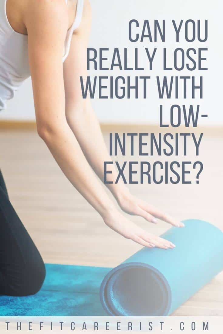 Is low intensity exercise really effective for weight loss? Here's what you need to know about low-impact full body workouts and low intensity interval training (or LIIT) before you give them a try!