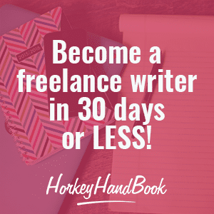 Become a freelance writer in 30 days or less