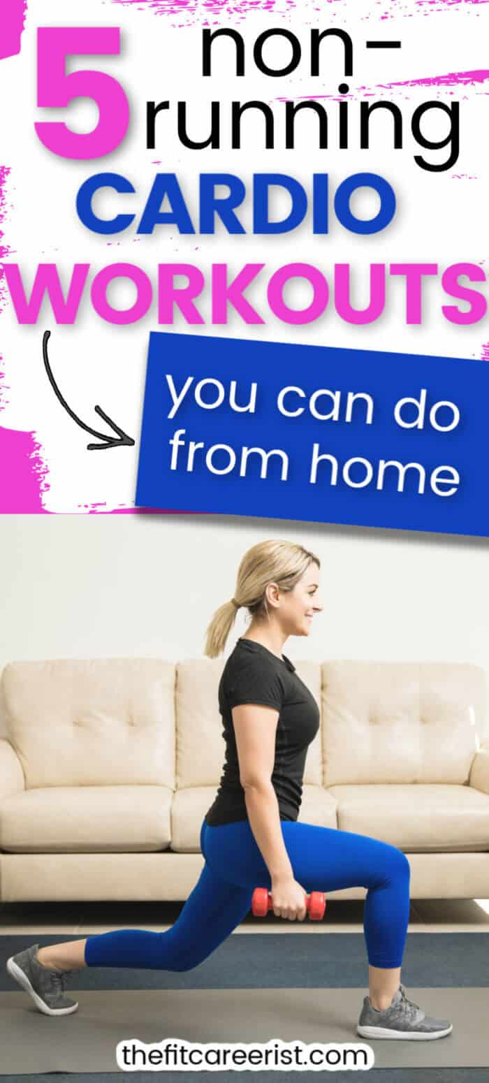 5 non running cardio workouts you can do from home