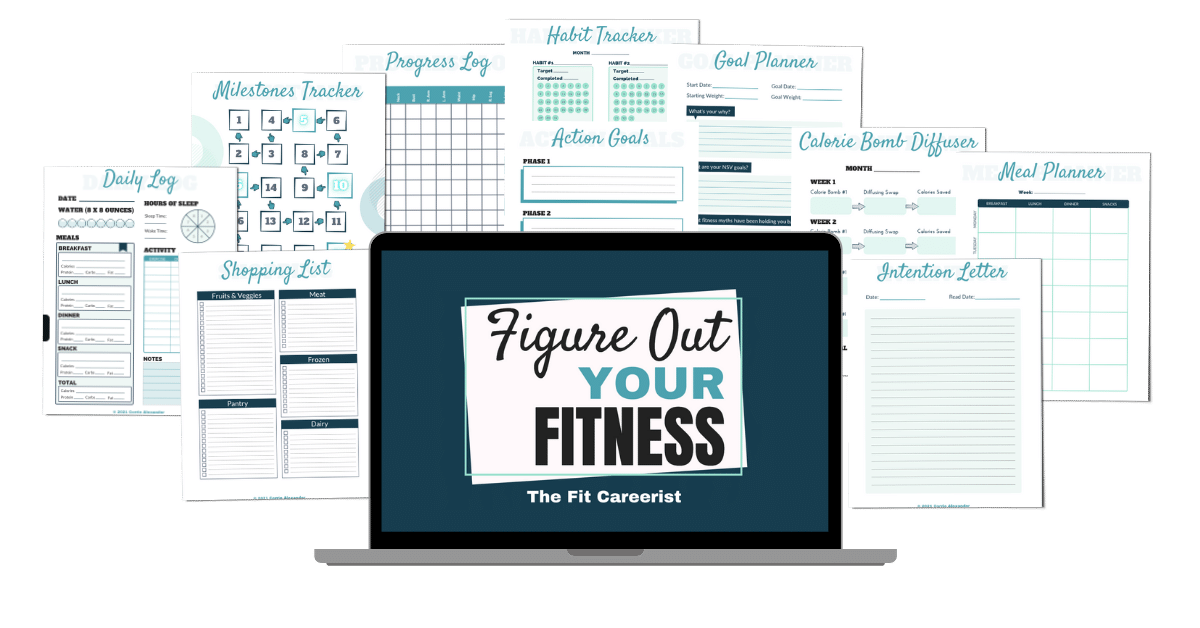 Figure Out Your Fitness Mockup